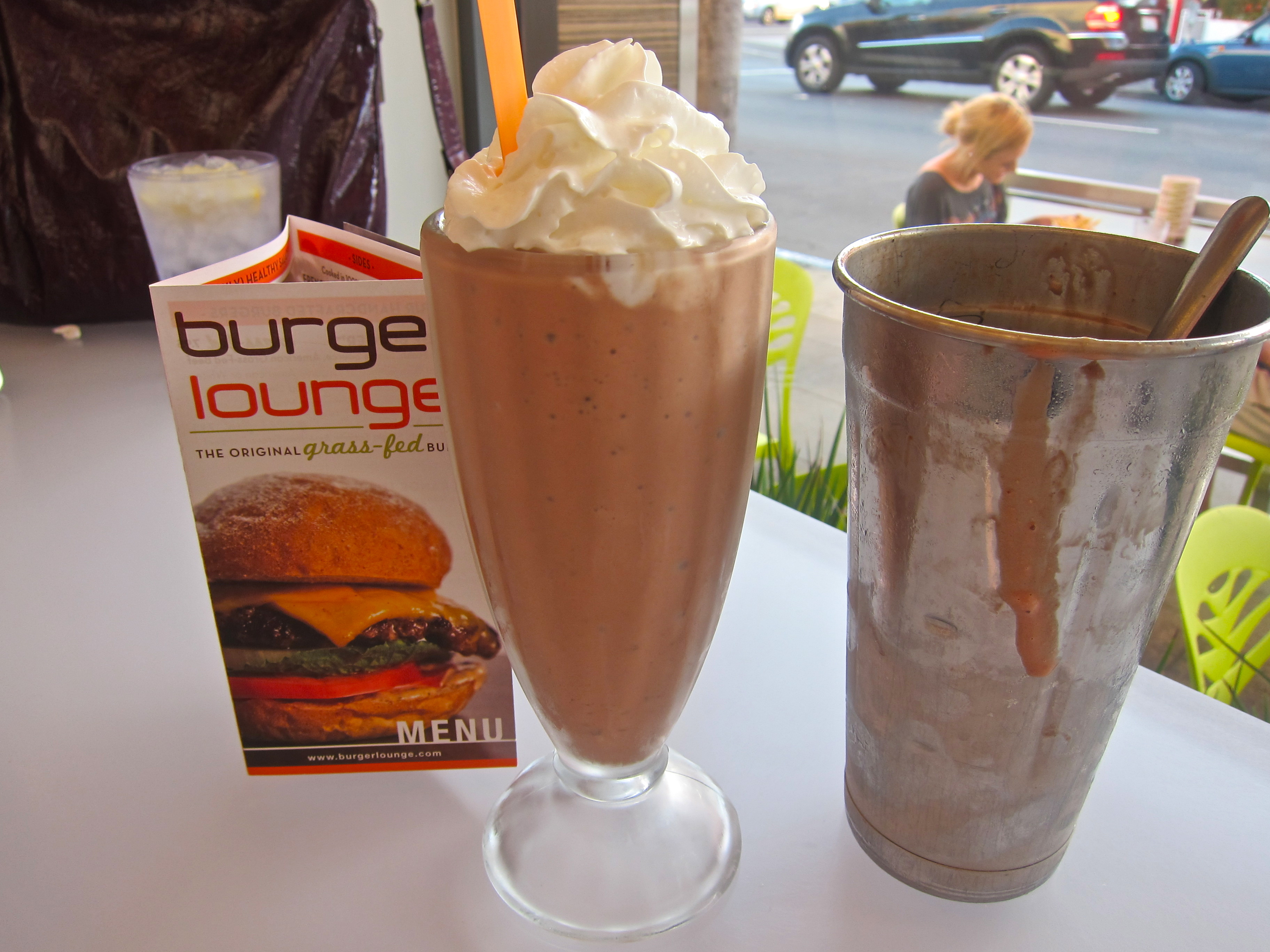 Image result for Burger Lounge shakes