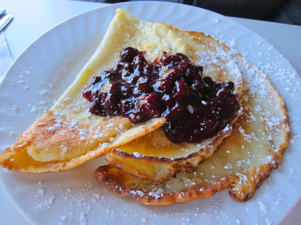Footloose Caboose Pancakes
