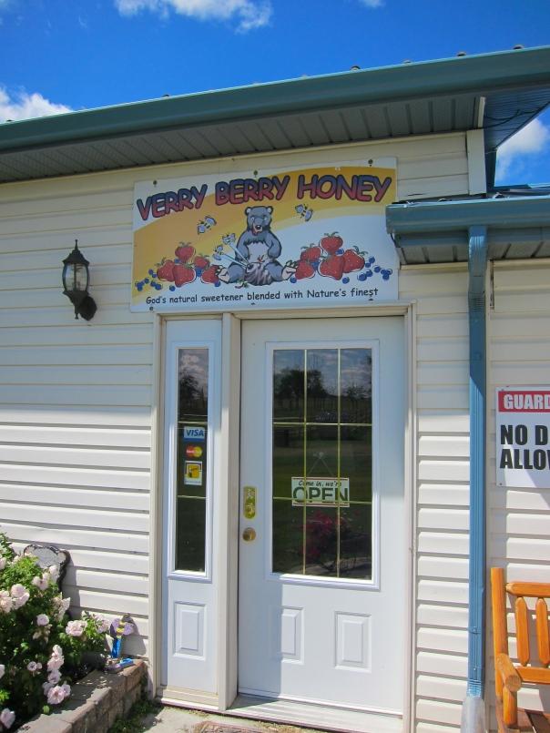 Beary Berry Honey