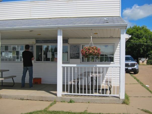 Moms Ice Cream Corral- Tofield, Alberta